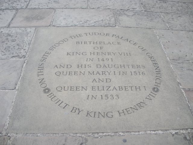 Tudor Palace Plaque